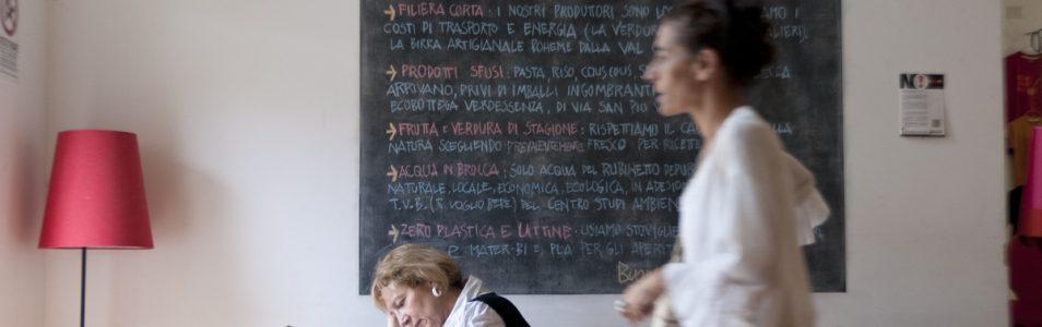 Bagni Municipali: la caffetteria della Casa del Quartiere