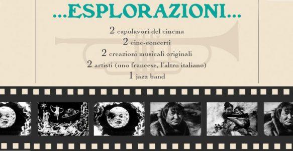 Esplorazioni… cine-concerto alla Casa del Quartiere!