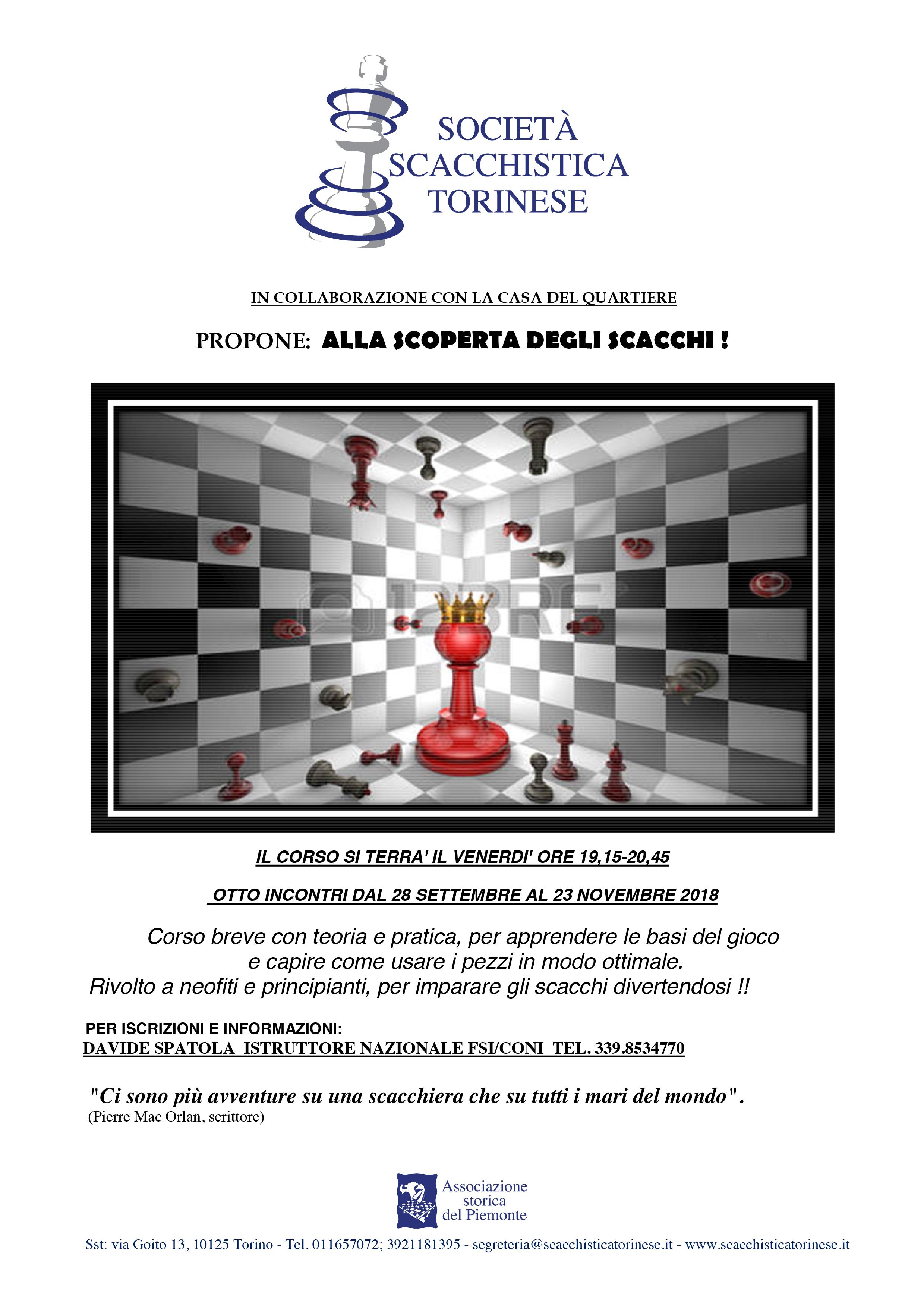 Alla scoperta degli scacchi