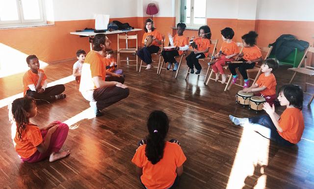 capoeira angola bambini