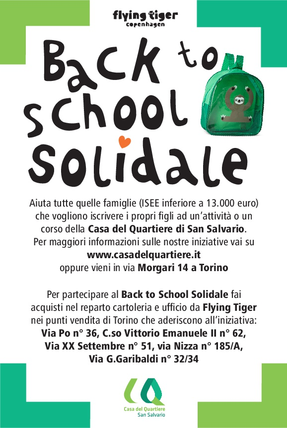 Back to School solidale