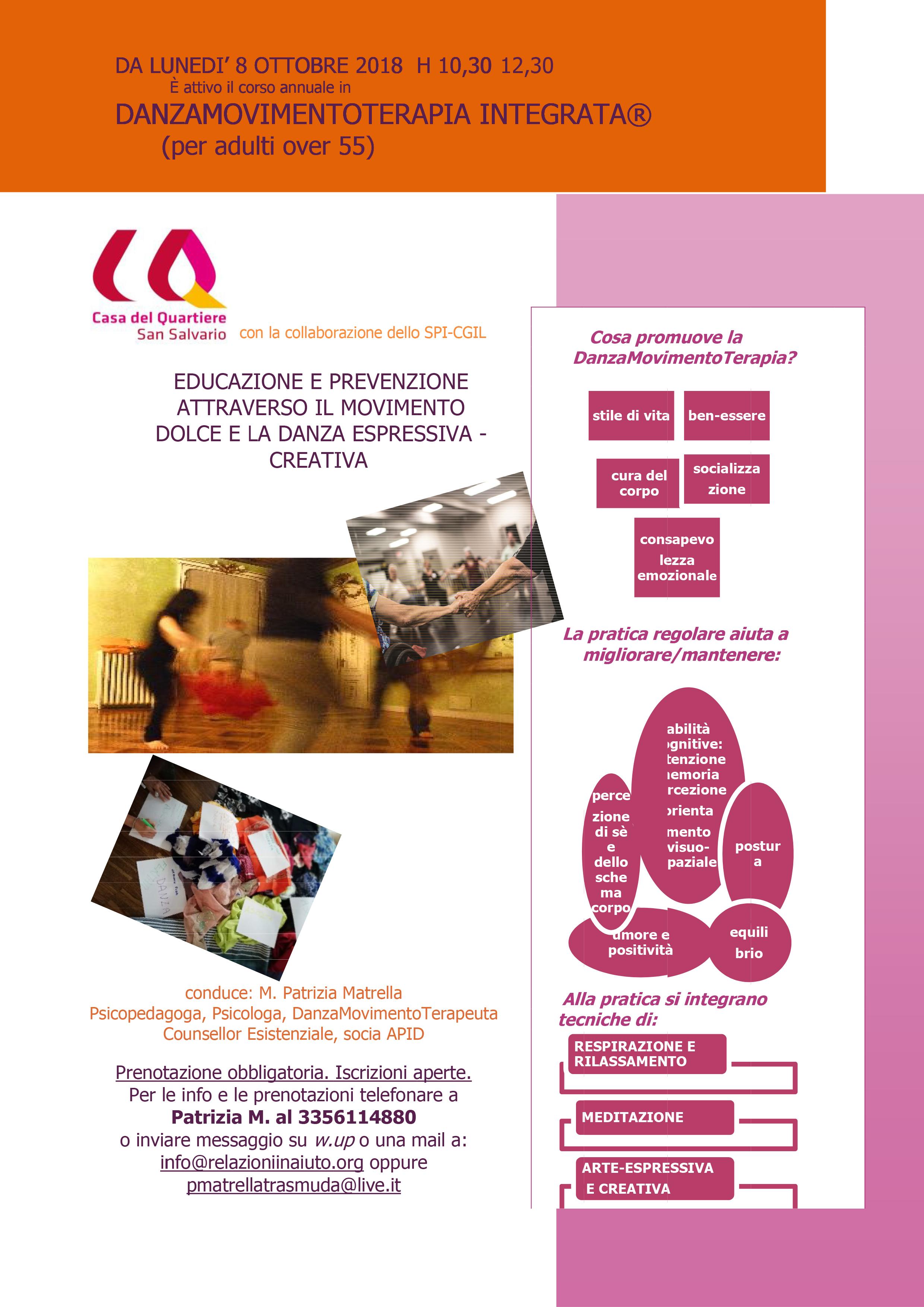 DanzaMovimentoTerapia Integrata per la terza età