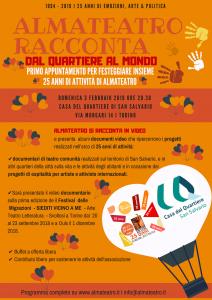 Almateatro festeggia 25 anni di attività!