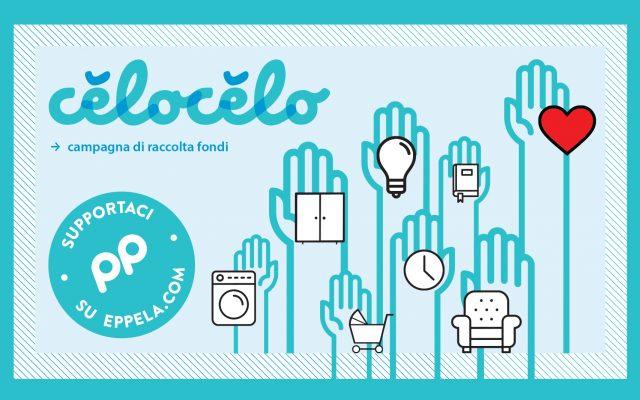 Partecipa alla campagna di raccolta fondi per celocelo: basta un click!