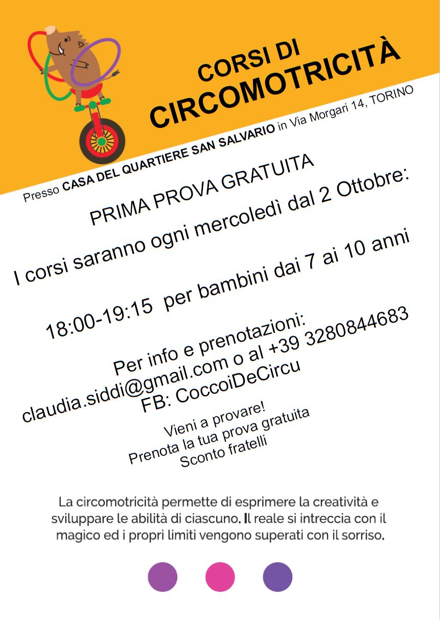 circo bambini San Salvario - Torino
