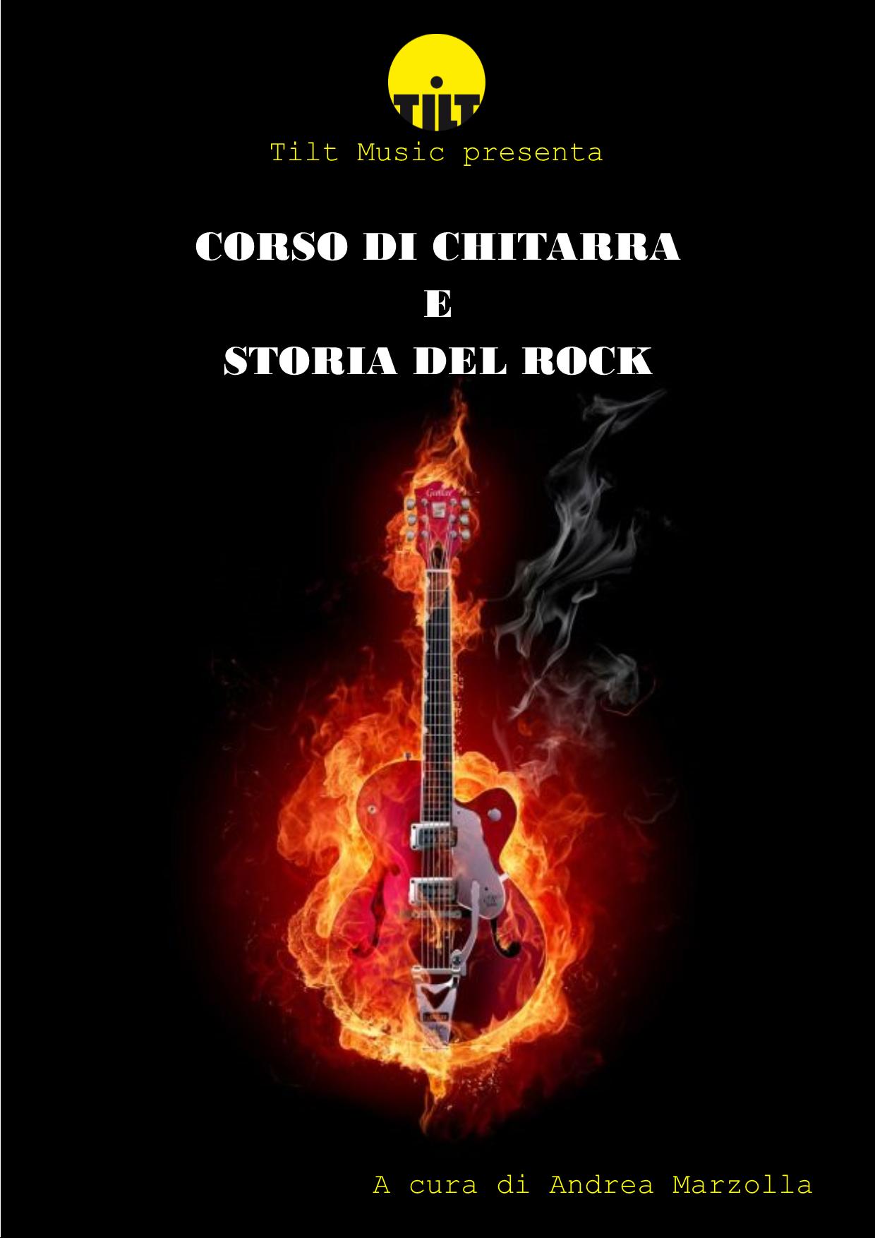 Corso di chitarra e storia del rock
