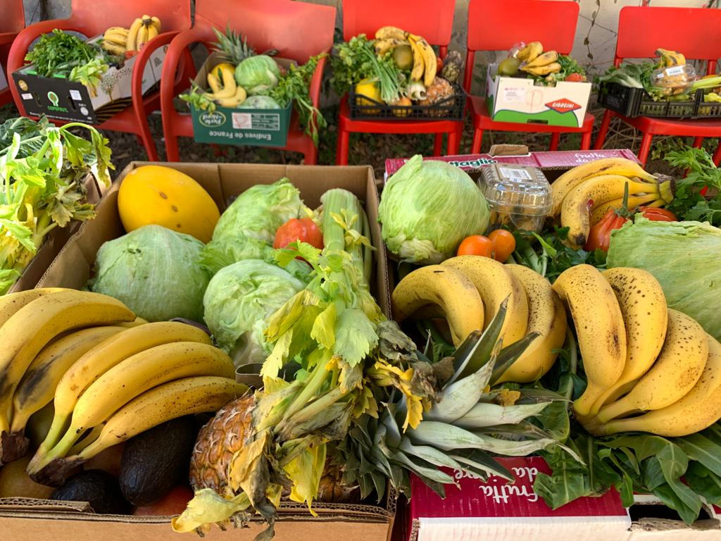 La Casa del Quartiere è uno degli snodi di distribuzione di beni alimentari e di prima necessità di Torino Solidale