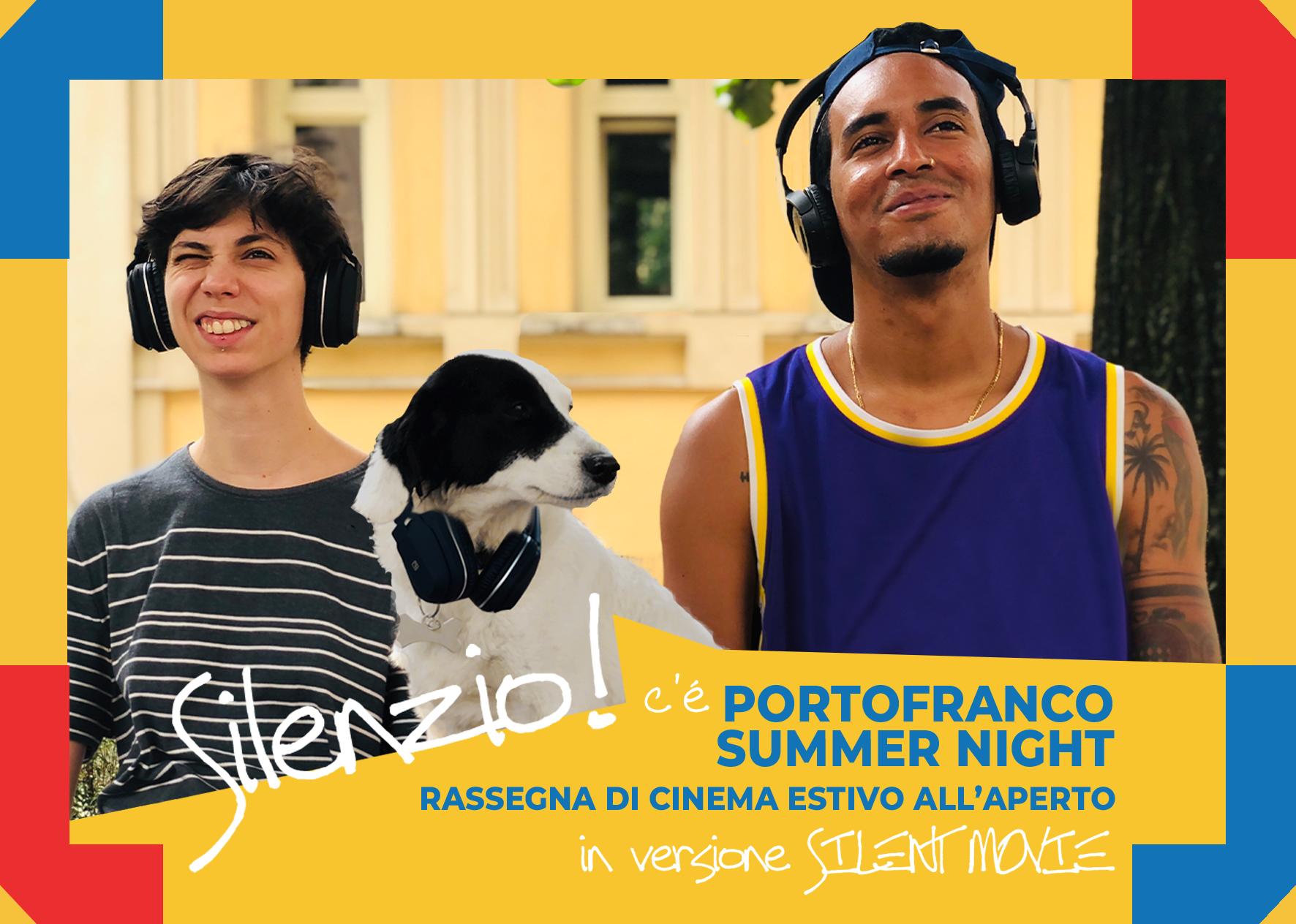 Torna PORTOFRANCO SUMMER NIGHT 2020, la rassegna di cinema estivo nel cortile della Casa del Quartiere