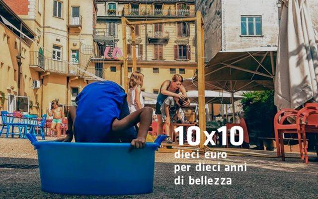 10X10 – 10 euro per 10 anni di bellezza